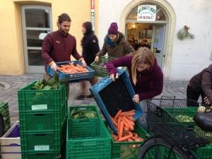 FoodCoop: Lieferung @ Transition Wechselwelt  | Regensburg | Bayern | Deutschland