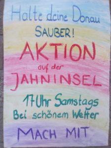 Halte deine Donau sauber - gemeinsame Müllsammel-Aktion immer samstags bei schönem Wetter @ Jahninsel - Treffpunkt Alte Linde | Regensburg | Bayern | Deutschland