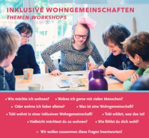 INKLUSIVE Wohngemeinschaften - ThemenWorkshops @ Evangelisches Bildungswerk Regensburg e.V. | Regensburg | Bayern | Deutschland